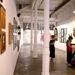 """""""Bestial"""" group show curated by Miss Van, 2007. Photo © Landry A"""
