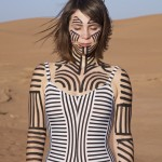 Body paint by Dunja Jankovic. Photo ©Boris Hoppek